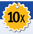 Earn up to 10X bonus points